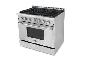 "Thor Kitchen 36"" Professional All Stainless Steel Gas Range"
