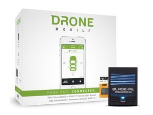 CompuStar RSD-3400S Drone Mobile Smartphone Remote Car Starter Kit W\ Dr3400 & Ft7200s (RSD3400S)