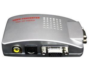 VGA to High Resolution RCA TV Composite Video S-Video Converter Conversion Box