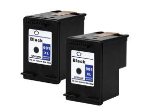 InkTonerBox Remanufactured Ink Cartridges for HP901XL CC654A(2 Black) Compatible With OfficeJet 4500 G510a J4500 J4550 J4640 J4680c 4500 G510g J4524 J4580 J4660 4500 G510n J4540 Show Ink Level