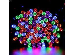 lederTEK 200 LED Battery Operated String Light Outdoor/Indoor Home Decoration Christmas Wedding Holiday Party Garden Colorful 2V 15.7M/52.5ft