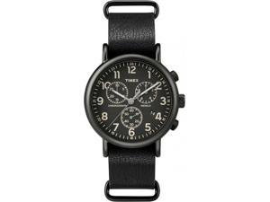 Timex TW2P62200 Men's Black Analog Watch With Black Dial