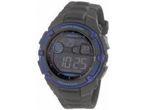 Armitron Men 8240BLU Black Metalic Blue Bezel  Watch