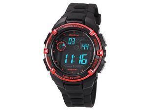 Armitron Men 8240RED Black Resin Metalic Red Bezel  Watch