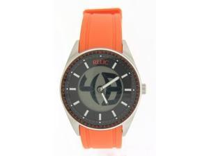 Relic ZR55262 Orange Rubber Watch