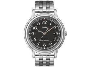 Timex Mens Classics Series Black Dial Watch T2N666