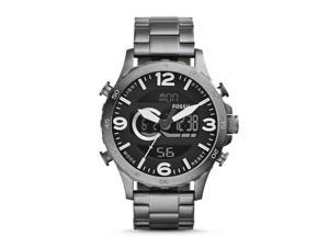 Fossil Men's Silver Analog/Digital Watch JR1491