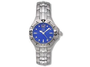 ESQ Swiss Womens 7100743 Blue and Silver Watch