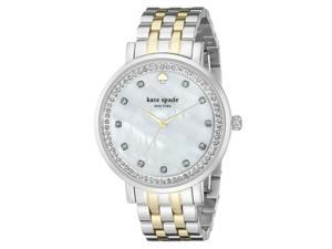 Kate Spade Women's Silver Tone Analog watch 1YRU0823
