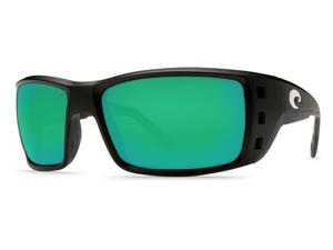 Costa Del Mar Permit Black/Green Lens PT11OGMP Sunglasses