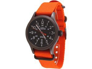 Timex Expedition Scout Men's Orange Analog Watch TW4B04600
