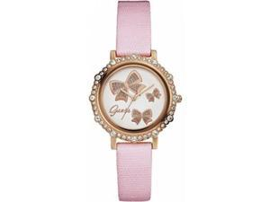 Guess Women's Rose Gold Analog Watch W0302L3