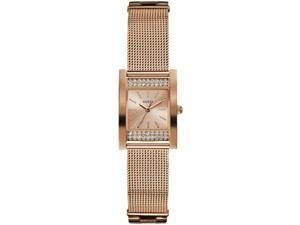 Guess Women's Rose Gold Analog Watch W0127L3