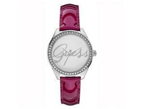 Guess Women's Silver Tone Analog Watch W0229L3