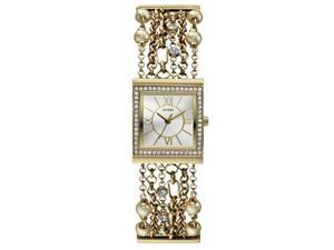 Guess Women's Gold Analog Watch W0417L2