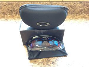 Oakley Flak Jacket Black Frame / G30 Iridium lens 26-239 Sunglasses New In Box