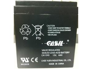 12V 4Ah SLA Alarm Battery