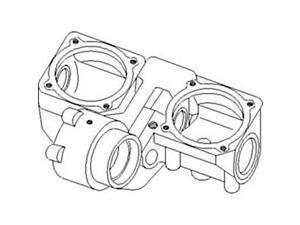 H220669 New Row Unit Gear Case Made to fit John Deere Corn Head Models 243 244 +