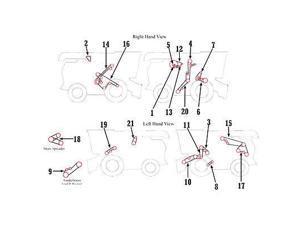 E16774 New 400 RMP Slow Down Overshot Beater Drive Belt For John Deere 9650