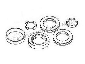 1R3140 Farmhand Loader Hydraulic Cylinder Seal Kit F236-A F258-A Double Action