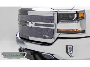 T-Rex Grilles 54133 Upper Class Series Mesh Grille Fits 16 Silverado 1500