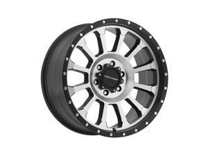 Pro Comp Alloy 3534-8983 Xtreme Alloys Series 3534 Black/Machined Finish