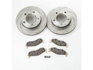 SSBC Performance Brakes A2351001 Turbo Slotted Rotors