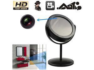 Mini Mirror Motion Detection Spy Video Camera Hidden DVR Cam Camcorder Support Color Video Recording function