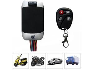 Motorcycle Motorbike Car Anti Theft GSM SMS GPRS GPS TRACKER TRACK Remote SPY Vehicle Gps Tracker TK303G Cut Off Oil Power Support Fuel Sensor Cell Phone APP with Remote Controller 12 PIN Harness