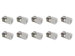 Lamp Socket Adapter E26 E27 ES Base To MR16 GU5.3 Bi Pin Sockets - 10 Pack