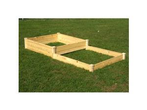 EDEN Quick Assembly 2-Section Raised Garden Bed