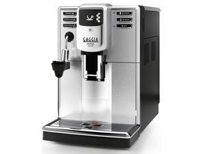 Gaggia Anima Deluxe Super-Automatic One-Touch Brewing Espresso Machine with Water Reservoir and Bean Hopper