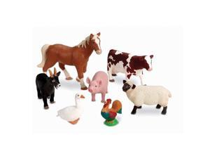 Jumbo Realistic Farm Animal Toys