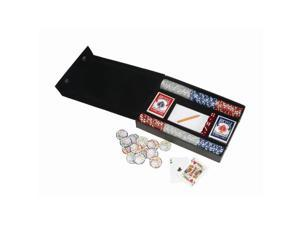 Royce Leather Professional Poker Set Black