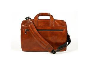 Old Leather Stringer Bag Amber