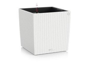 Cube Cottage 50 Planter White