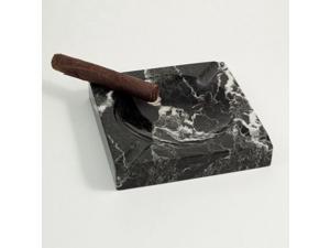 Square Marble Four Cigar Ashtray