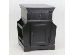 Euphonious Magazine Cabinet with Storage Drawers