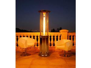 Opus Lite Liquid Propane Gas Patio Heater Gun Metal