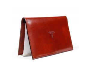 Old Leather Prescription Pad Cognac