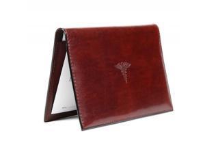 Old Leather Prescription Pad Dark Brown