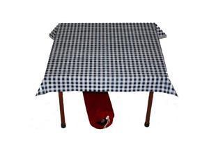 Checkered Table cloth Black/White