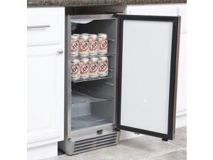 Whynter BOR-325FS Stainless Steel 3.2 cu. ft. Indoor / Outdoor Beverage Refrigerator