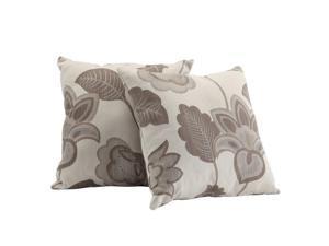 Home Creek Midtown 2-Piece Floral Pillow