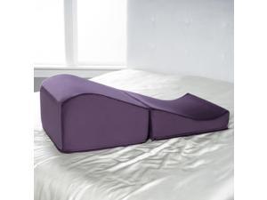 Liberator Flip Ramp Positioning Pillow Aubergine