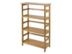 Winsome 99342 Honey Beechwood SHELFBOOK4-TIER