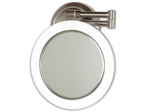 Zadro Dimmable Sunlight Fluorescent Double-Sided Wall-Mount Mirror