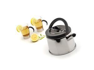 Cubo 2.1 Qt Whistling Tea Kettle by BergHOFF