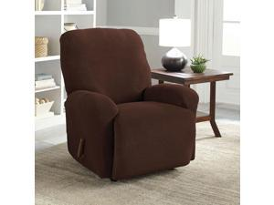 Serta Stretch Grid 4-Piece Slipcover for Recliner