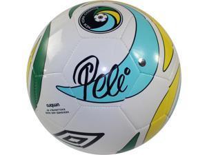 Pele Signed New York Cosmos Umbro Logo Soccer Ball